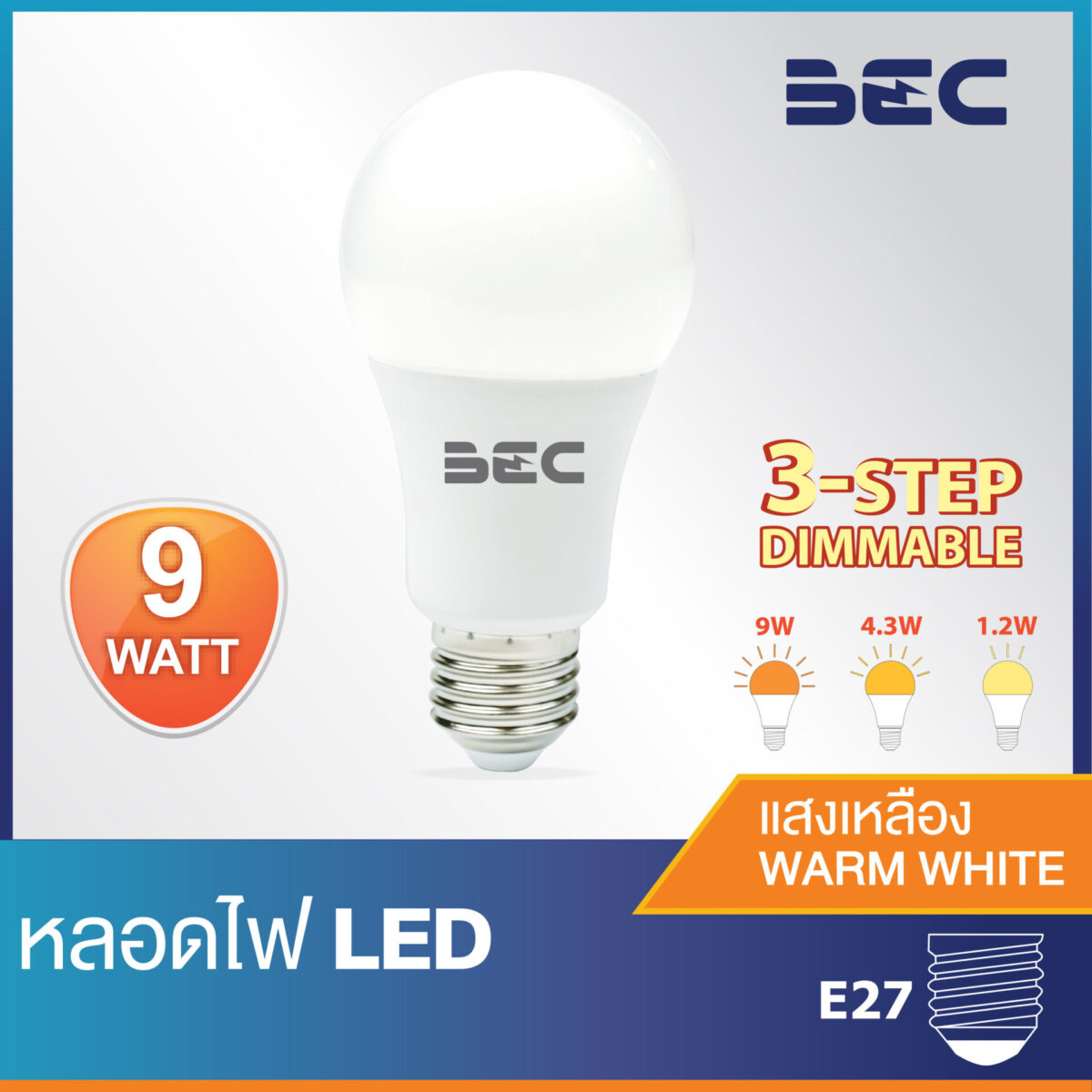 หลอดไฟ LED รุ่น Level
