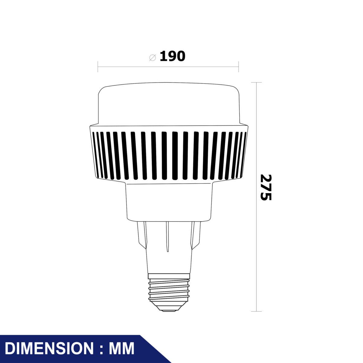 หลอดไฟ LED รุ่น Curve II