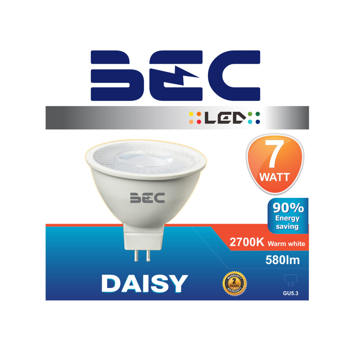 หลอดไฟ MR16 LED รุ่น Daisy