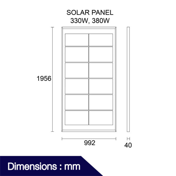 แผงโซลาร์เซลล์ รุ่น Solar Panel