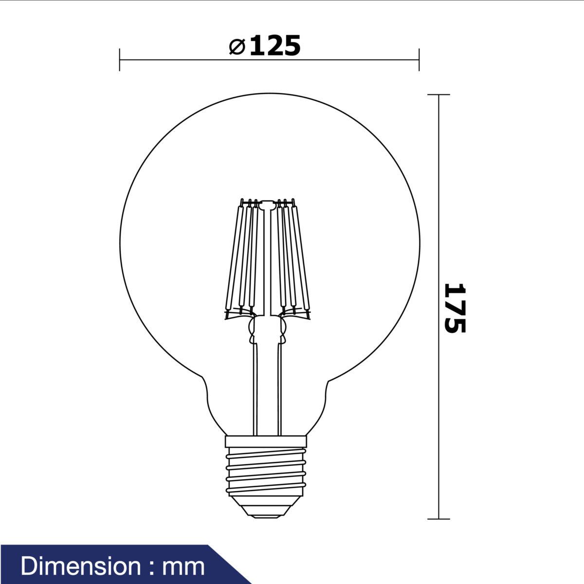 หลอดวินเทจ LED รุ่น Vintage-G/G