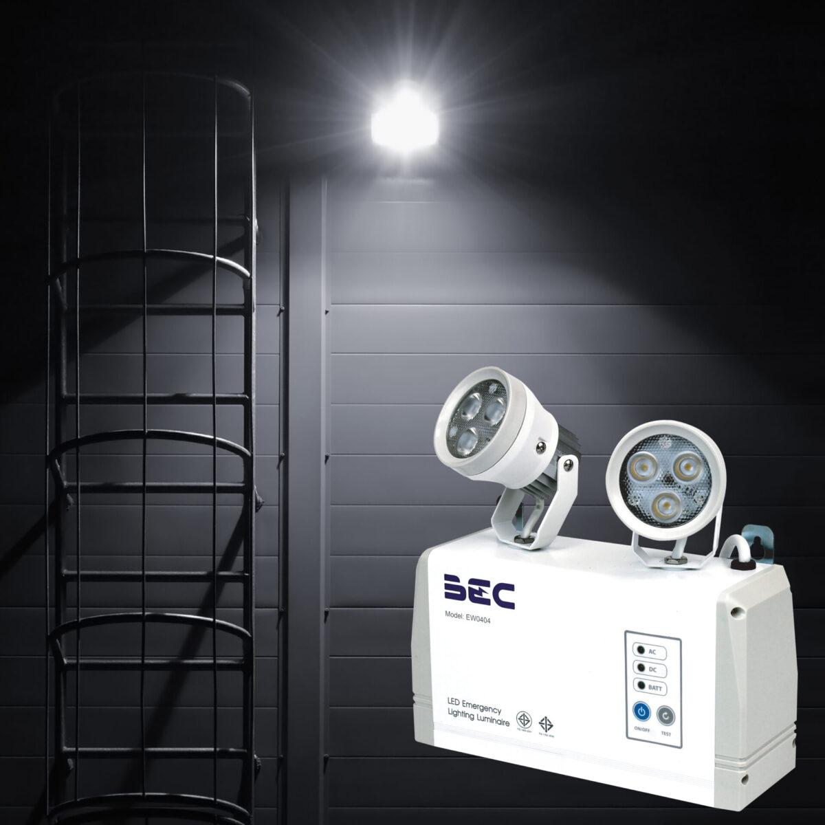 ไฟฉุกเฉิน LED รุ่น EW0404