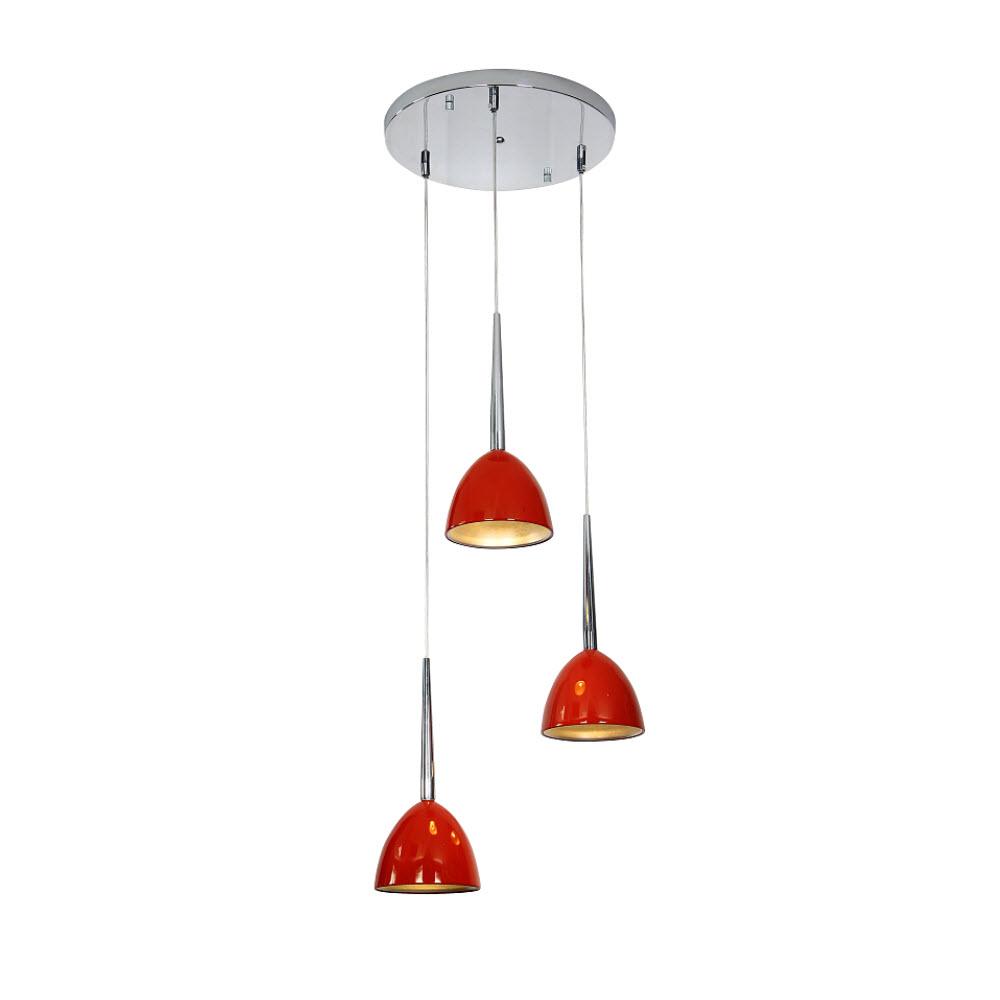 โคมไฟแขวนเพดาน รุ่น HMT-9179-3/Red