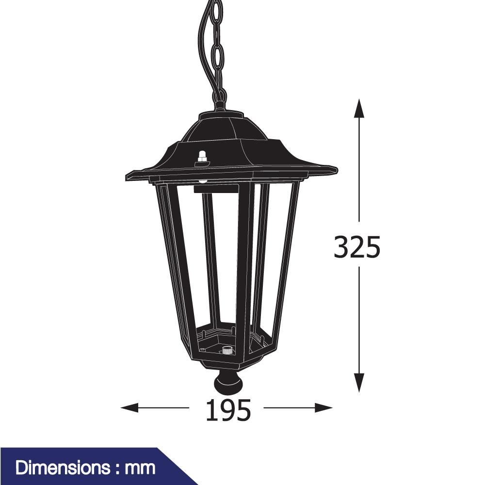 โคมไฟแขวนเพดาน รุ่น JTO-601-025