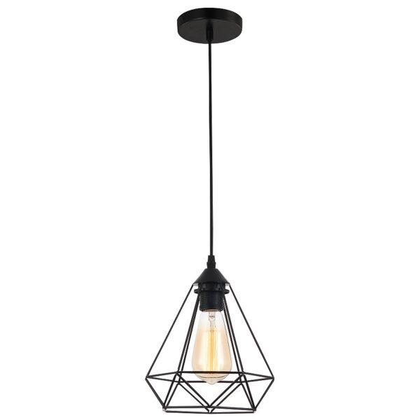 โคมไฟแขวนเพดาน รุ่น LWP3102BK