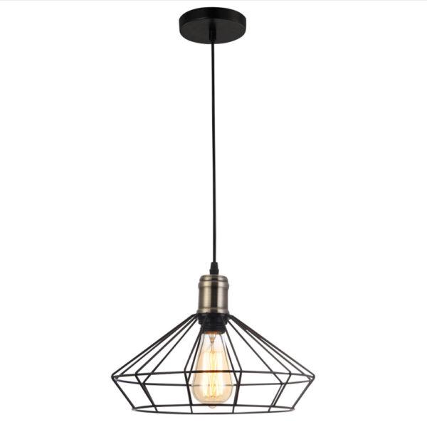 โคมไฟแขวนเพดาน รุ่น LWP3106BK
