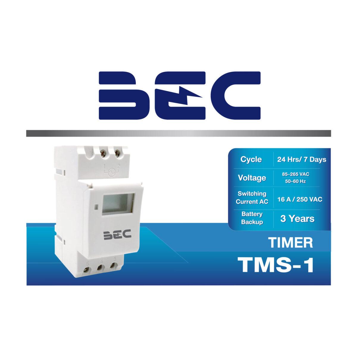 นาฬิกาตั้งเวลา Digital รุ่น TMS-1