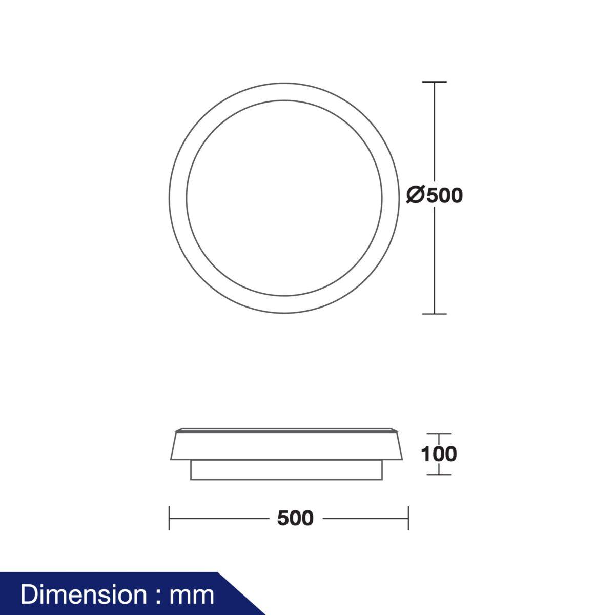 โคมไฟติดลอย LED รุ่น Neptune-07